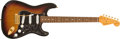 Musical Instruments:Electric Guitars, 1998 Fender Stratocaster SRV Sunburst Electric Guitar #SN8959155....