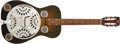 Musical Instruments:Resonator Guitars, Recent Dobro Square-Neck Sunburst Resonator Guitar #D9428....