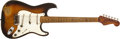 Musical Instruments:Electric Guitars, 1954 Fender Stratocaster Sunburst Solid Body Electric Guitar,#0255. ...