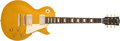 Musical Instruments:Electric Guitars, 2003 Gibson Les Paul 1957 Reissued Gold Top Solid Body ElectricGuitar, #7 3627. ...