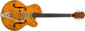 Musical Instruments:Electric Guitars, 1961 Gretsch 6120 Orange Semi-Hollow Body Electric Guitar, #41300. ...