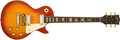 Musical Instruments:Electric Guitars, 1974 Gibson Les Paul Deluxe Cherry Sunburst Solid Body Electric Guitar, #520021....