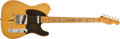 Musical Instruments:Electric Guitars, 1982 Fender 1952 Telecaster Reissue Butterscotch Blonde Solid Body Electric Guitar, #0745. ...