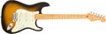 Musical Instruments:Electric Guitars, 2006 Fender Stratocaster Sunburst Solid Body Electric Guitar, #DZ6103595....