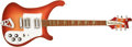 Musical Instruments:Electric Guitars, 1976 Rickenbacker 481 Fireglo Solid Body Electric Guitar, #PD2864. ...