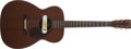 Musical Instruments:Acoustic Guitars, 1954 Martin 00-17 Natural Acoustic Guitar, #136991....