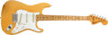 Musical Instruments:Electric Guitars, 1974 Fender Stratocaster Blonde Electric Guitar, #656879. ...