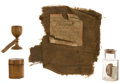 Political:Presidential Relics, George Washington: Four Relics from the Collection of J. S. Reigart....