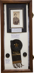 Political:3D & Other Display (pre-1896), Abraham Lincoln: Columbus Funeral Artifacts....