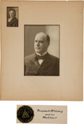 Photography, William McKinley Photograph Signed ...
