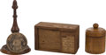 Political:Presidential Relics, Relics: Three Relics Related to George Washington, from the Collection of J. S. Reigart,...