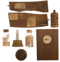 Antiques:Antiquities, Relics: Eight Relics Related to the Holy Land, from the Collectionof J. S. Reigart,...