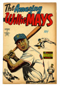 Golden Age (1938-1955):Non-Fiction, The Amazing Willie Mays #nn (Famous Funnies, 1954) Condition:VG....
