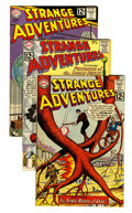 Silver Age (1956-1969):Science Fiction, Strange Adventures Group (DC, 1962) Condition: Average FN/VF.... (Total: 6 Comic Books)