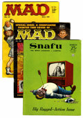 Magazines:Mad, Mad Magazine Group (EC, 1956-60) Condition: Average VG+.... (Total:7 Comic Books)
