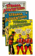 Golden Age (1938-1955):Science Fiction, Strange Adventures Group (DC, 1952-59) Condition: Average VG/FN....(Total: 9 Comic Books)