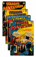 Golden Age (1938-1955):Science Fiction, Strange Adventures #15-18 Group (DC, 1951-52).... (Total: 4 ComicBooks)