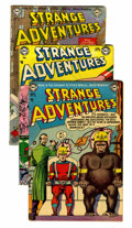 Golden Age (1938-1955):Science Fiction, Strange Adventures Group (DC, 1953-59) Condition: Average GD/VG....(Total: 9 Comic Books)