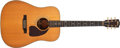 Musical Instruments:Electric Guitars, 1997 Gibson J-60 Natural Acoustic Guitar #93097052....