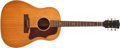 Musical Instruments:Acoustic Guitars, 1965 Gibson J-50 Natural Acoustic Guitar #309540....