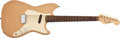 Musical Instruments:Electric Guitars, 1960 Fender Musicmaster Desert Sand Electric Guitar, #41664. ...