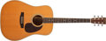 Musical Instruments:Acoustic Guitars, 1984 Martin D-35 Shenandoah Natural Acoustic Guitar, #448529. ...