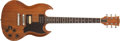 Musical Instruments:Electric Guitars, 1980 Gibson SG Firebrand Natural Electric, #83520535. ...