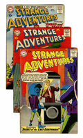 Silver Age (1956-1969):Science Fiction, Strange Adventures Group (DC, 1959-61) Condition: Average FN-.... (Total: 9 Comic Books)