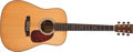 Musical Instruments:Acoustic Guitars, 1987 Martin HD-28SE Natural Acoustic Guitar, #474083...