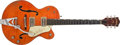 Musical Instruments:Electric Guitars, 1960 Gretsch 6120 Orange Semi Hollow Electric, #36721...