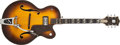 Musical Instruments:Electric Guitars, Late-1950s Gretsch Anniversary Sunburst Semi Hollow Electric. ...