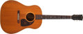 Musical Instruments:Acoustic Guitars, 1945 Gibson J-50 Natural Acoustic Guitar, #N/A. ...