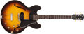Musical Instruments:Electric Guitars, 1960 Gibson ES-330TD Sunburst Semi-Hollow Body Archtop Electric Guitar #R608247....