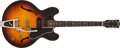 Musical Instruments:Electric Guitars, 1959 Gibson ES-330T Sunburst Semi-Hollow Body Electric Guitar #S225718....