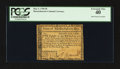 Colonial Notes:Massachusetts, Massachusetts May 5, 1780 $8 with much scarcer Slash Cancel PCGSExtremely Fine 40.. ...