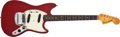 Musical Instruments:Electric Guitars, 1966 Fender America Mustang Dakota Red Electric Guitar #15913....