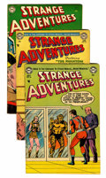 Silver Age (1956-1969):Science Fiction, Strange Adventures Group (DC, 1953-62) Condition: Average VG+.... (Total: 11 Comic Books)