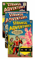 Silver Age (1956-1969):Science Fiction, Strange Adventures Group (DC, 1953-62) Condition: Average VG-.... (Total: 14 Comic Books)