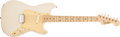 Musical Instruments:Electric Guitars, 1958 Fender Musicmaster Desert Sand Electric Guitar, #23205. ...