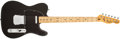 Musical Instruments:Electric Guitars, 1978 Fender Telecaster Black Electric Guitar, #S841798. ...