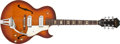 Musical Instruments:Electric Guitars, 1966 Epiphone Sorrento Sunburst Archtop Electric Guitar #745784....