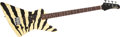 Musical Instruments:Electric Guitars, 1983 Hamer Zebra Explorer Electric Guitar #3 8931...