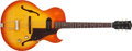 Musical Instruments:Electric Guitars, 1964 Gibson ES-125TC Cherry Sunburst Archtop Electric Guitar#237237....