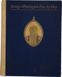 [William McKinley] Presentation Copy of George Washington Day by Day¸ Presented to President