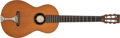 Musical Instruments:Acoustic Guitars, Turn-of-the-Century Tilton Parlor Natural Acoustic Guitar, #NA. ...