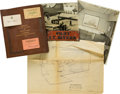 Political:Presidential Relics, Harry S Truman: Presidential Pilot Henry Myers Archive....