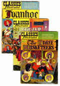 Golden Age (1938-1955):Classics Illustrated, Classics Illustrated Group (Gilberton, 1944-53)....