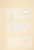 Prints:Contemporary, FRANK STELLA (American, b. 1936). Pastel Stack (fromStacks), 1970. Screenprint in color. 41 x 28 inches (104.1 x71.1 c...