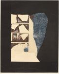 Prints, LOUISE NEVELSON (American, 1899-1988). Circus Wagon; Untitled (2), circa 1953-55; 1975. Etching and drypoint on paper; c... (Total: 2 Items)