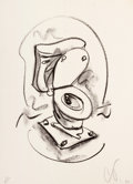 Prints:Contemporary, CLAES OLDENBURG (American, b. 1929). Soft Toilet #2, 1972.Lithograph. 20 x 14-1/2 inches (50.8 x 36.8 cm). Ed. 17/25. I...